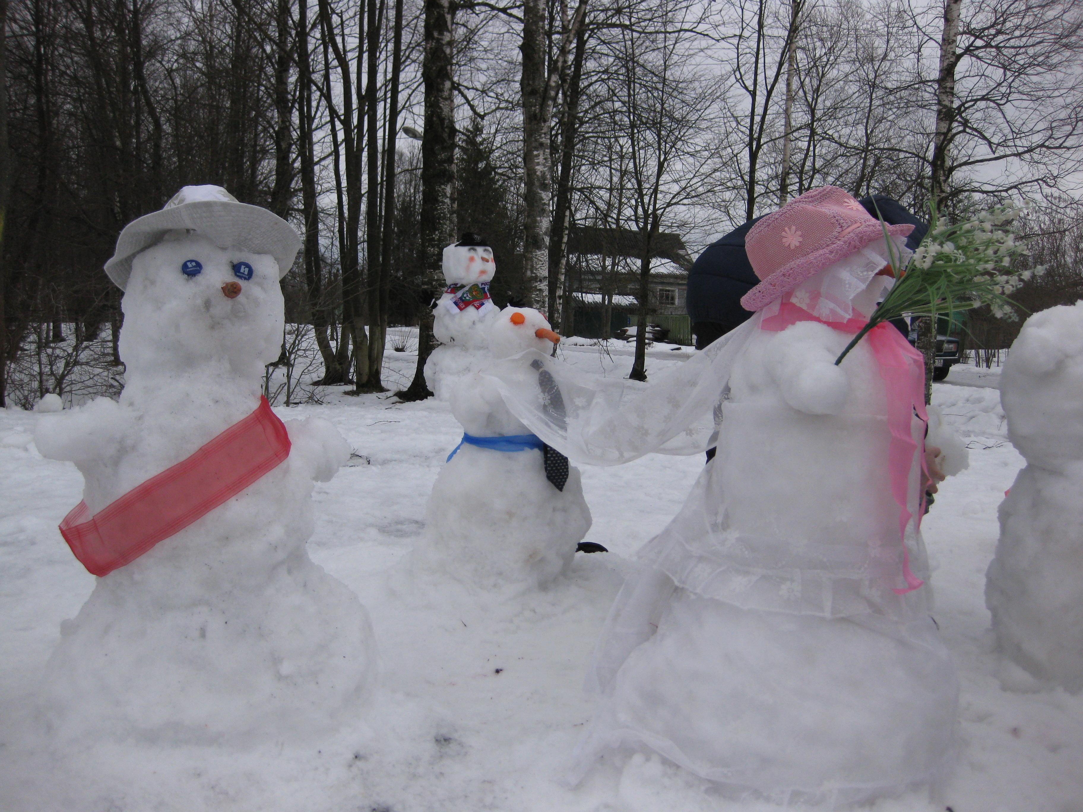является символом варианты лепки снеговиков фото жукова, как